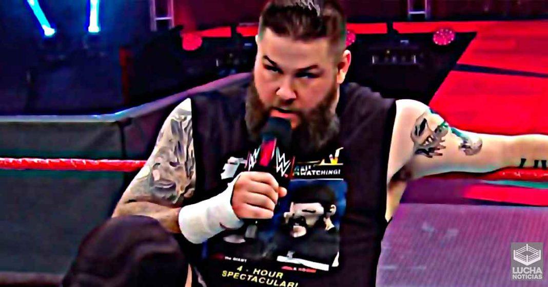 Kevin Owens obligó a Vince McMahon a hacer obigatorio el uso de cubrebocas