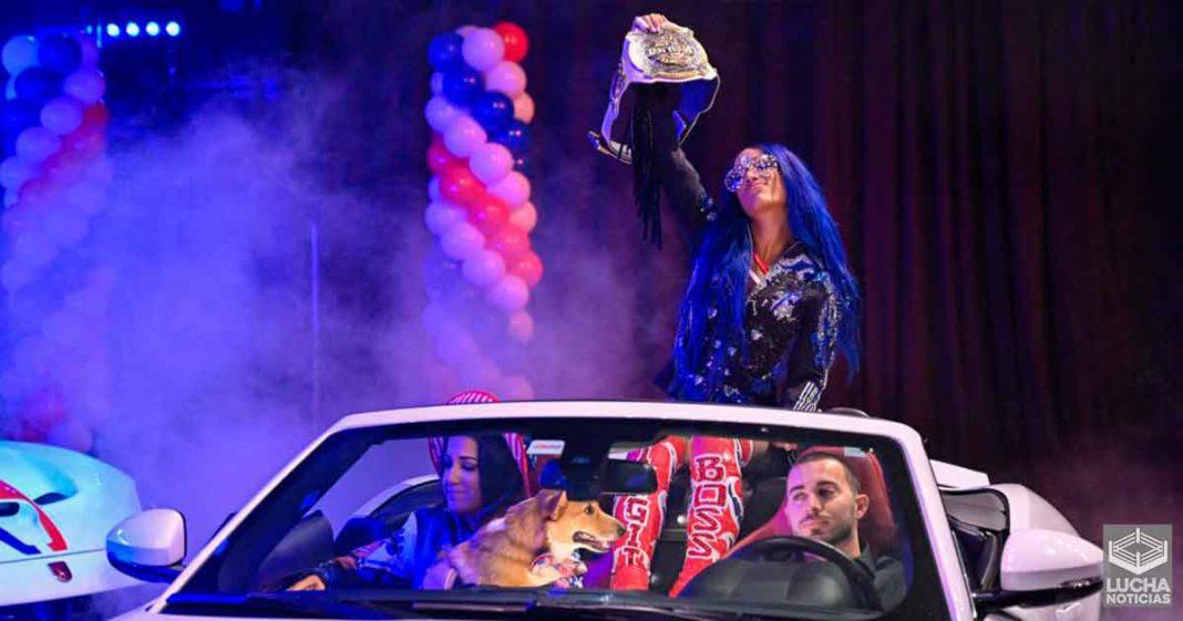 Sasha Banks asegura que ella le dio la victoría a NXT esta semana