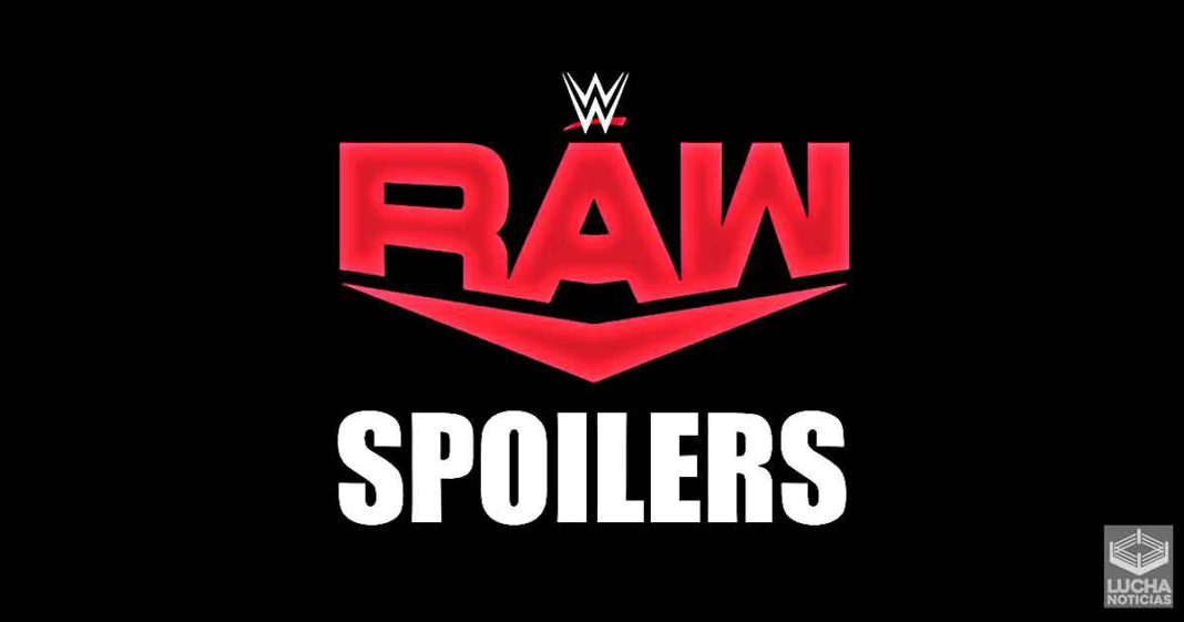 Se ha revelado gran spoiler de WWE RAW en estos momentos