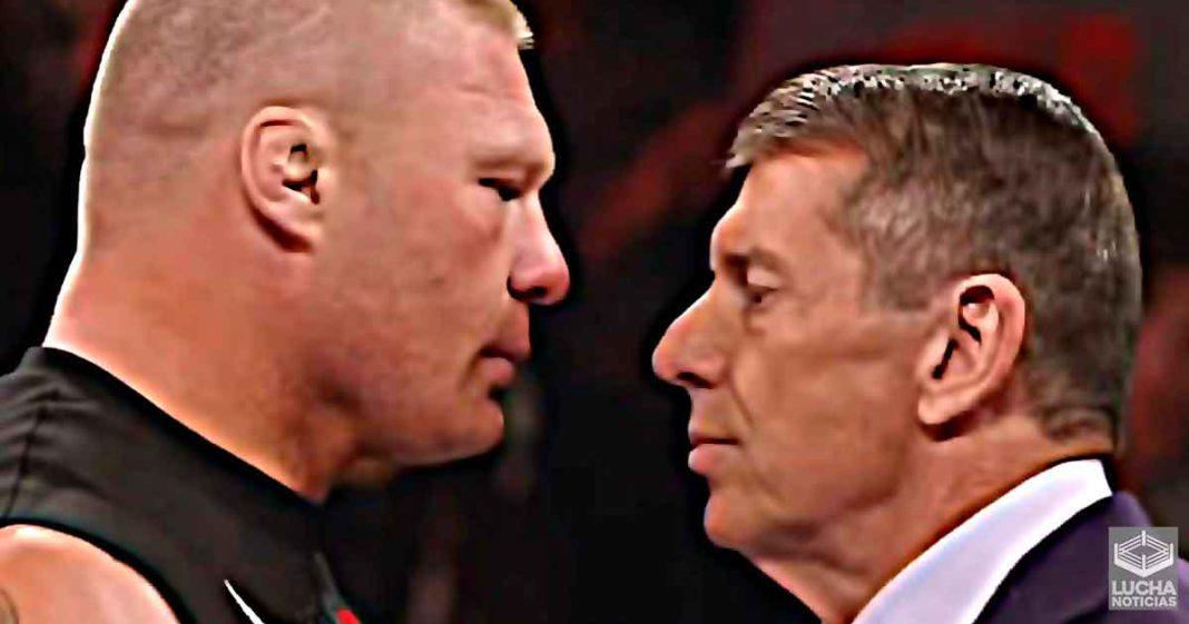 Vince McMahon fue advertido sobre Brock Lesnar