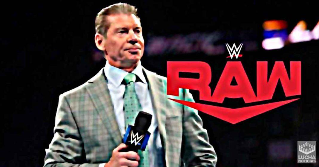 Vince McMahon hace gran cambio a importante lucha de WWE RAW