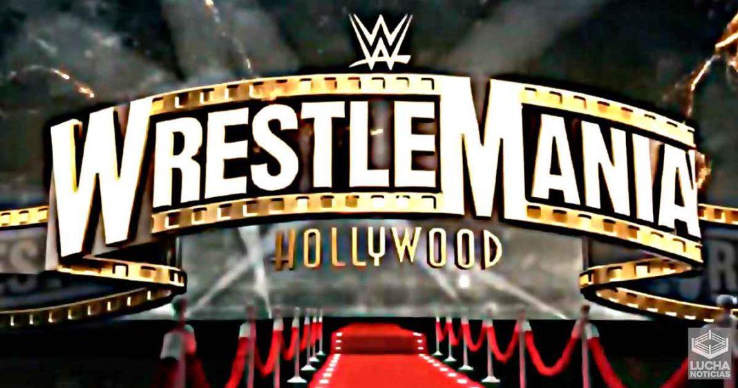 WrestleMania 37 planes en curso para el evento estelar