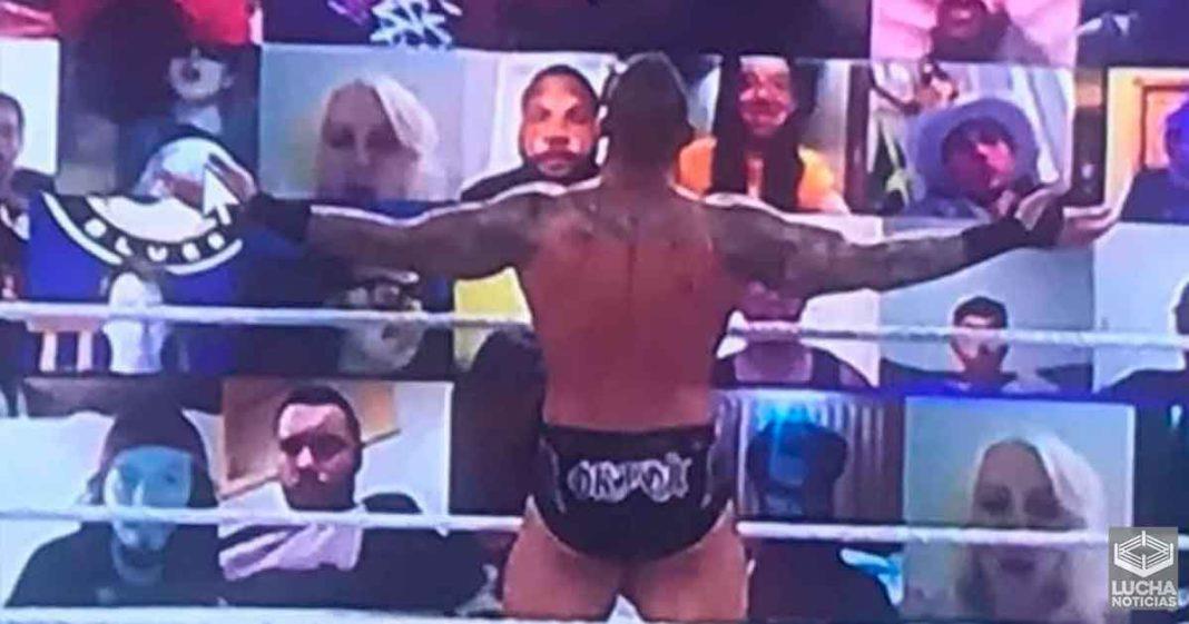 Aficionado promociona Beign The Elite de AEW en el WWE ThunderDome