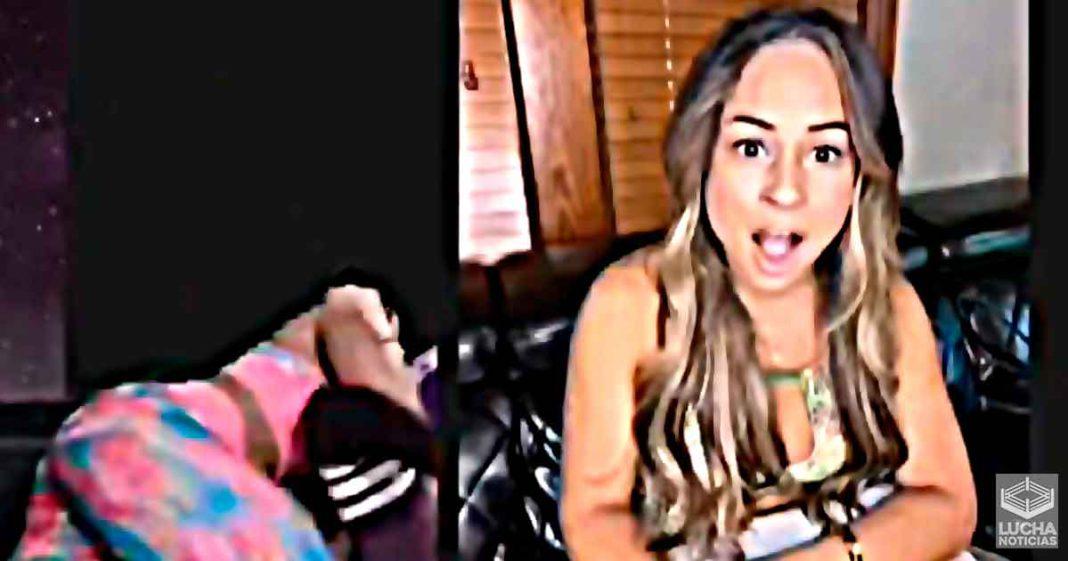 Bianca Beleair ataca a Zelina Vega en diecto de twitch