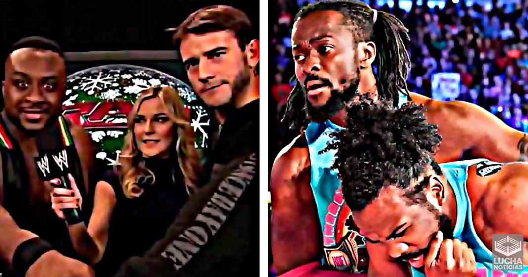 CM Punk quiere que Big E abandone a New Day