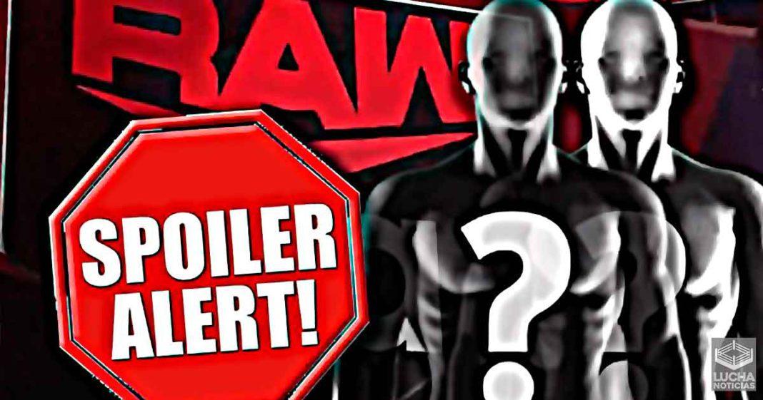 Gran Spoiler para WWE RAW