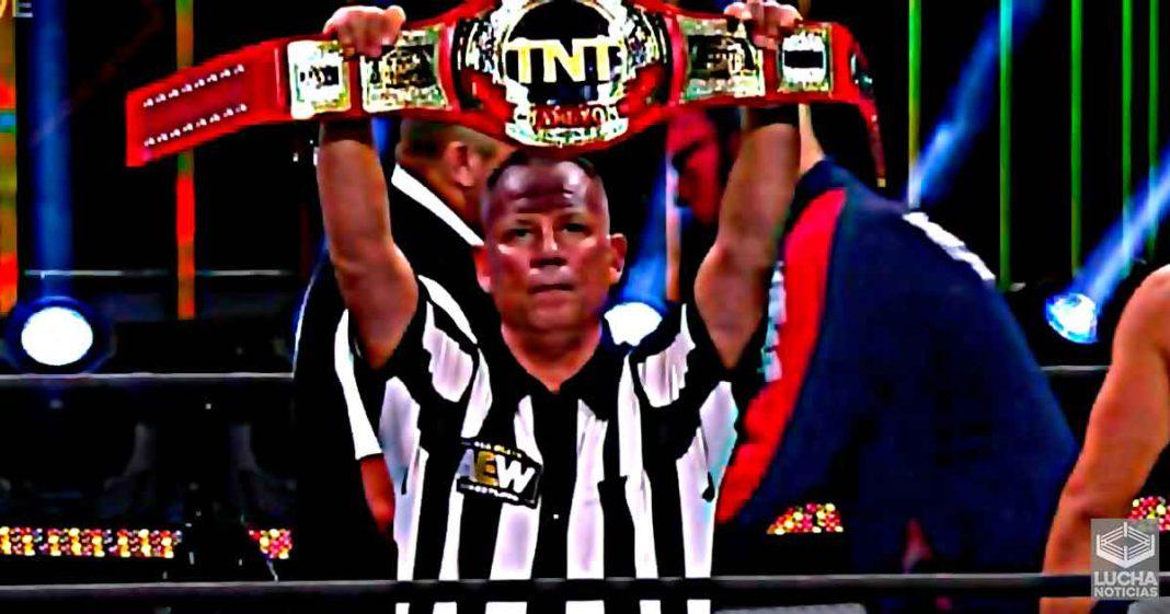 Mike Chioda debut en AEW Dynamite