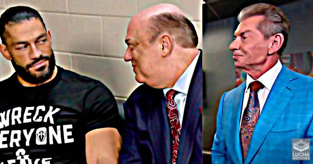 Planes para Roman Reigns y Paul Heyman en WWE son revelados