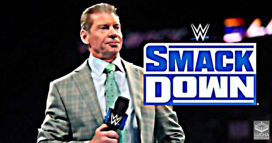 Problemas durante las grabaciones de WWE SmackDown
