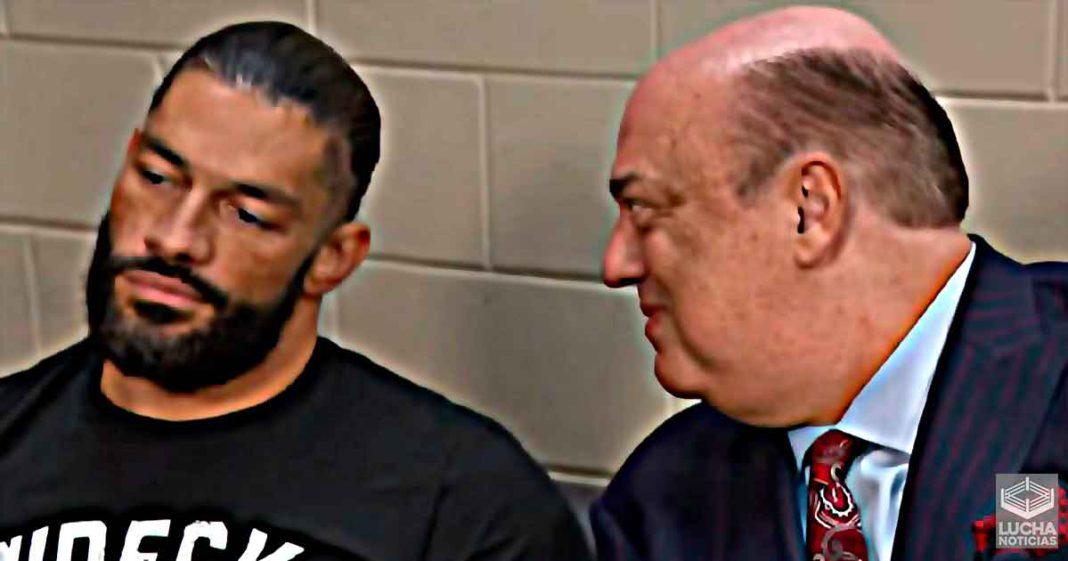 Reaccion en el backstage de WWE al regreso de Paul Heyman a WWE