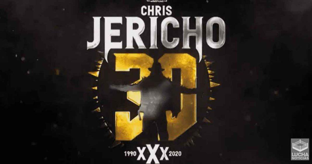 AEW celebrará 30 años de Chris Jericho en 2 semanas
