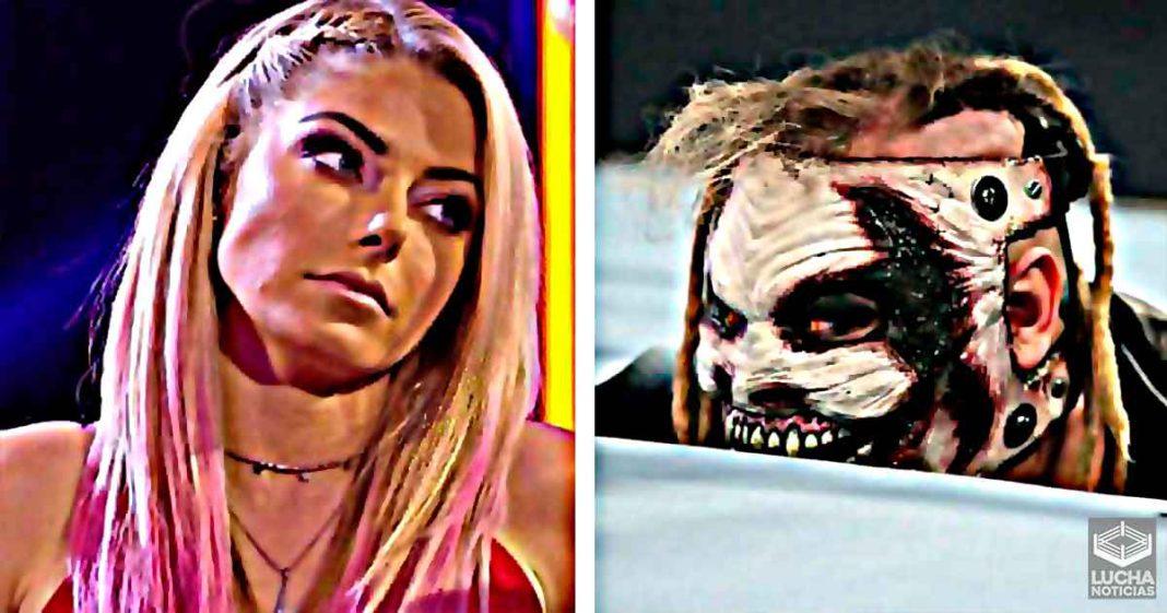 Alexa Bliss rompe el persona y explica como es trabajar con Bray Wyatt
