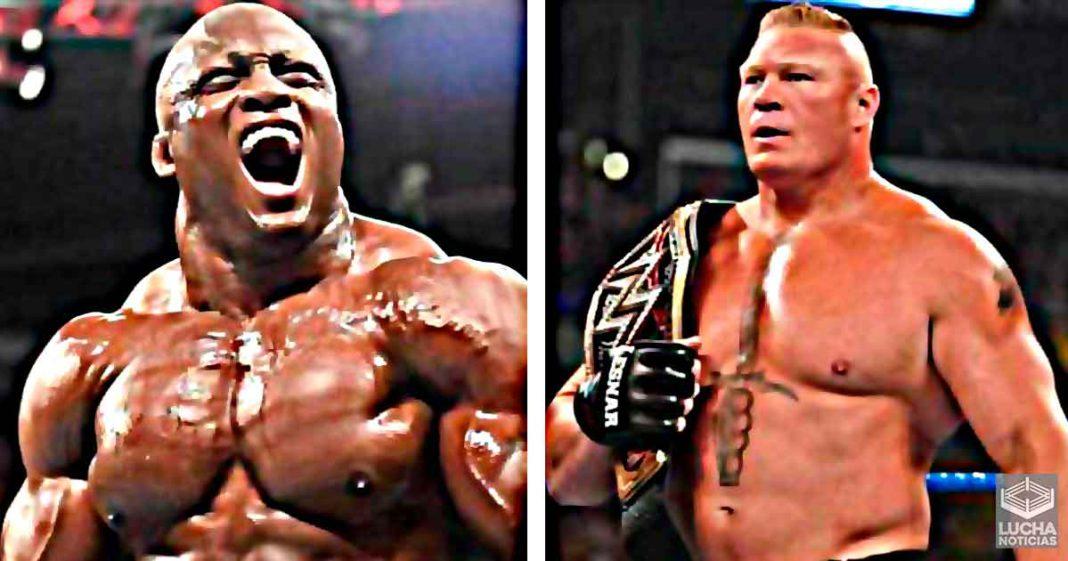 Bobby Lashley envía mensaje a Brock Lesnar