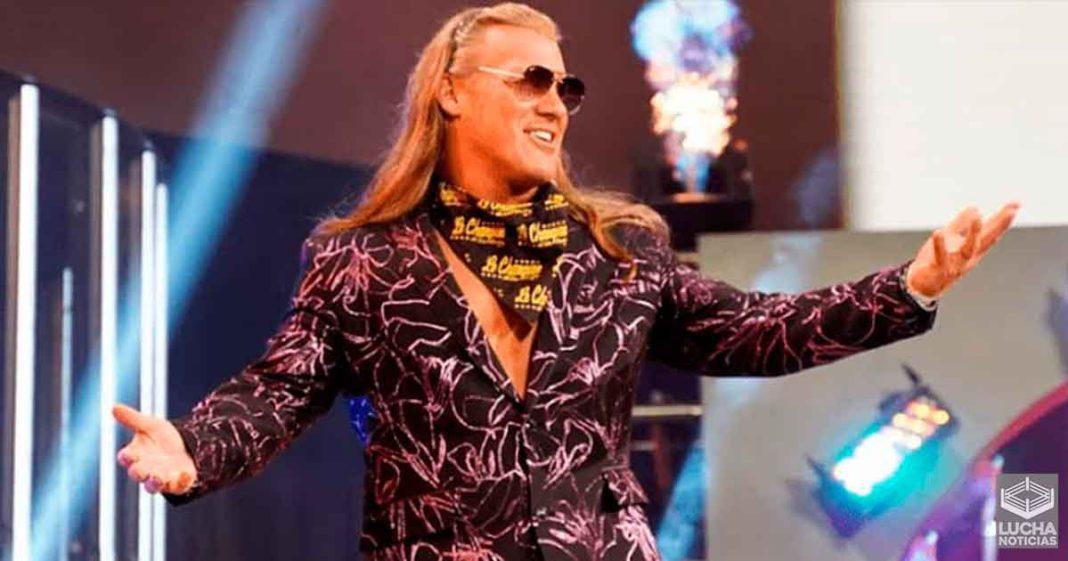 Chris Jericho registra marca para lucha con estipulación de AEW