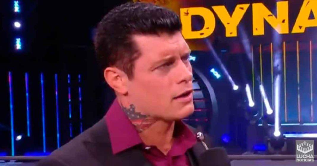 Cody Rhodes acepta una lucha de collar de perro la próxima semana