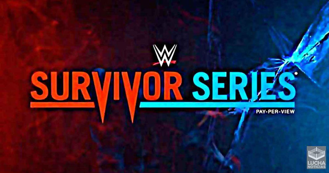Esto son los planes para el evento estelar de Survivor Series 2020