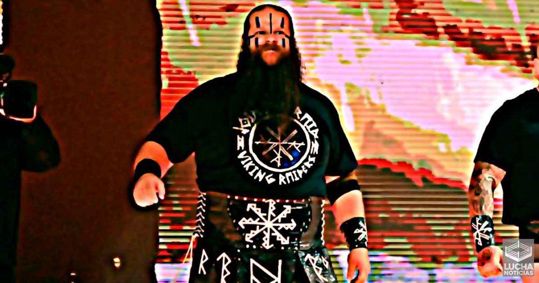 Ivar estaría fuera de la WWE hasta finales de 2021