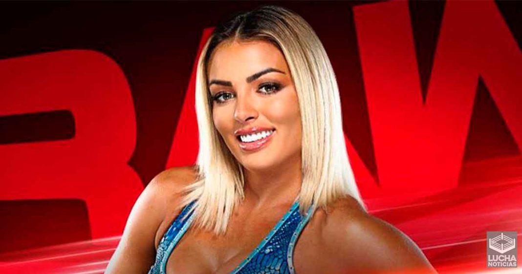 Mandy Rose trasladada a WWE RAW