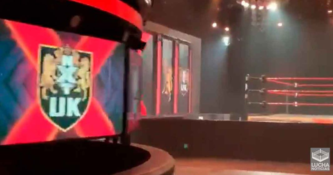 Primer vistazo al set de WWE NXT UK