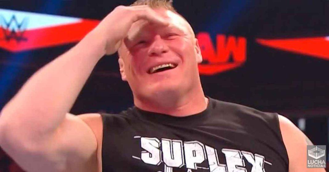 R-Truth dijo que el hacer reir a Brock Lesnar fue parte de una apuesta