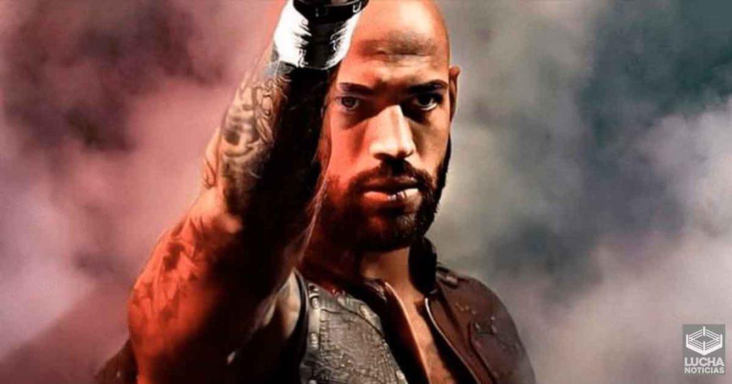 Ricochet reaccion al rumor de que abadonara la WWE