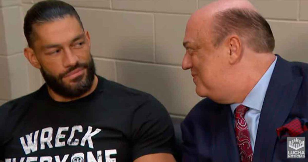 Roman Reigns revela como Paul Heyman lo ayuda con sus historias en backstage