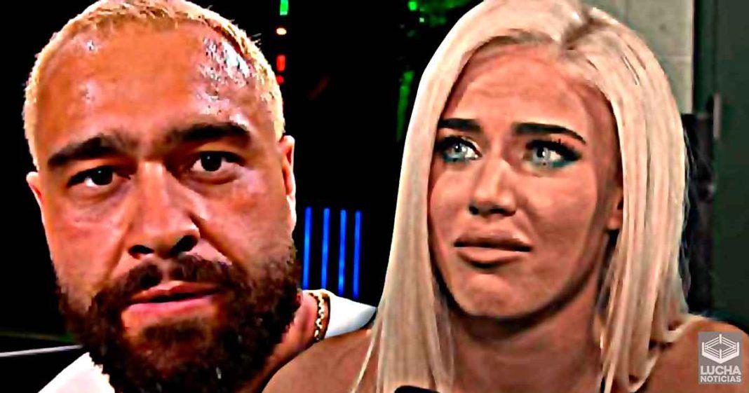 Rusev preocupado por que Lana sea castigada por su llegada a AEW