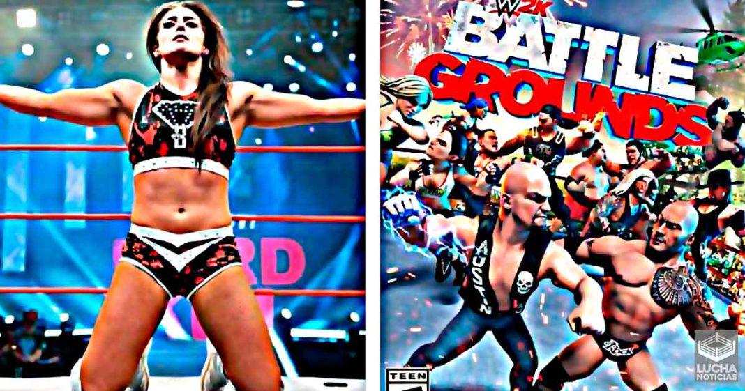 Tessa Blanchard aparece en el nuevo juego de WWE 2K Battlegrounds