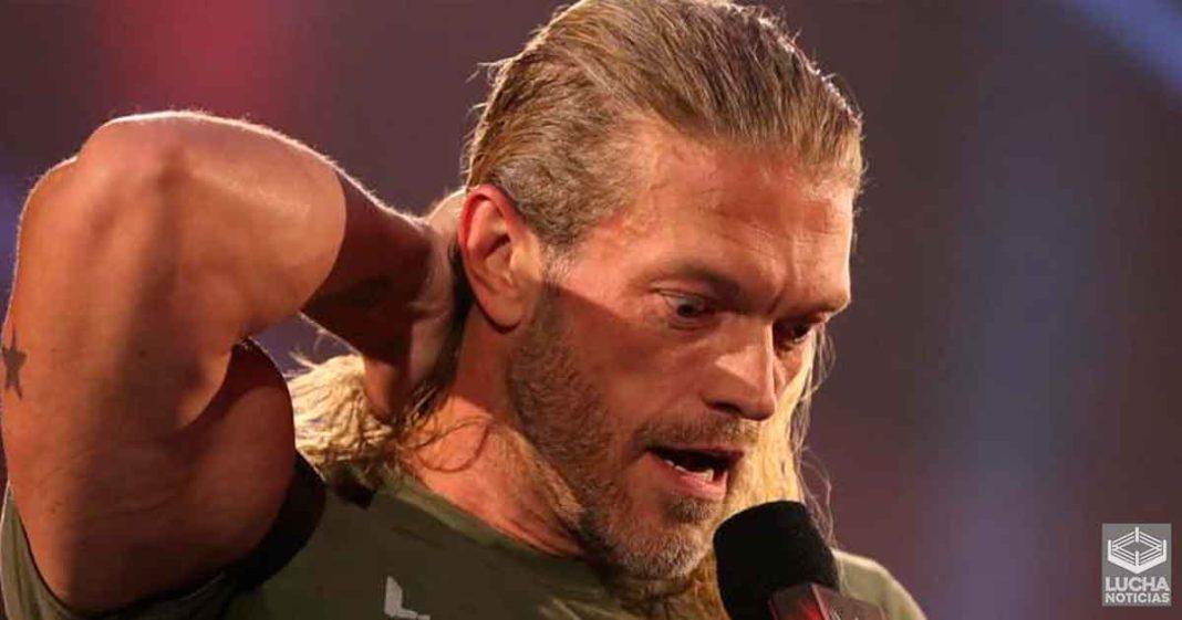 Triste noticia sobre el futuro de Edge en la WWE