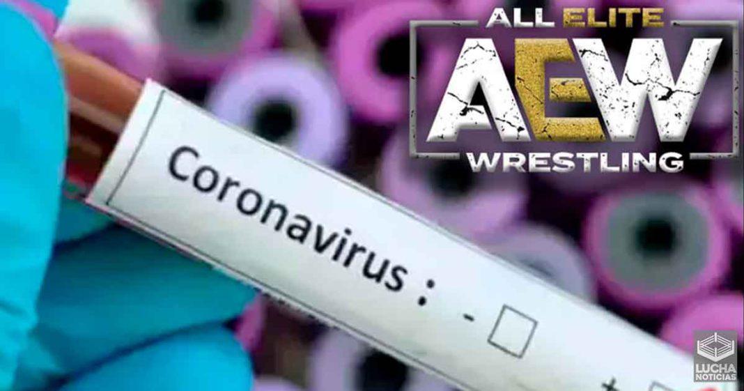 Varias superestrellas de AEW dan positivo a COVID-19