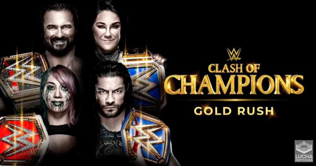 Varias superestrellas son sacadas de WWE Clash Of Champions