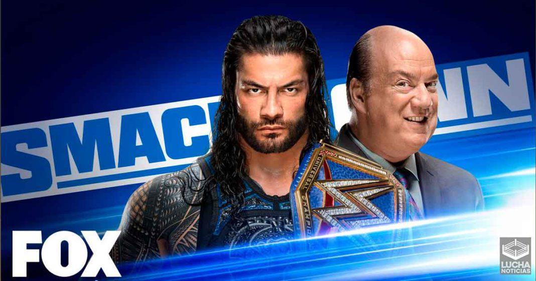 WWE SmackDown en vivo, resultados 25 de septiembre