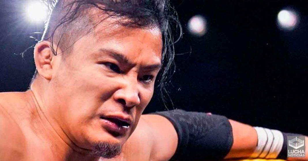 WWE hace un gran anuncio sobre Kushida de NXT