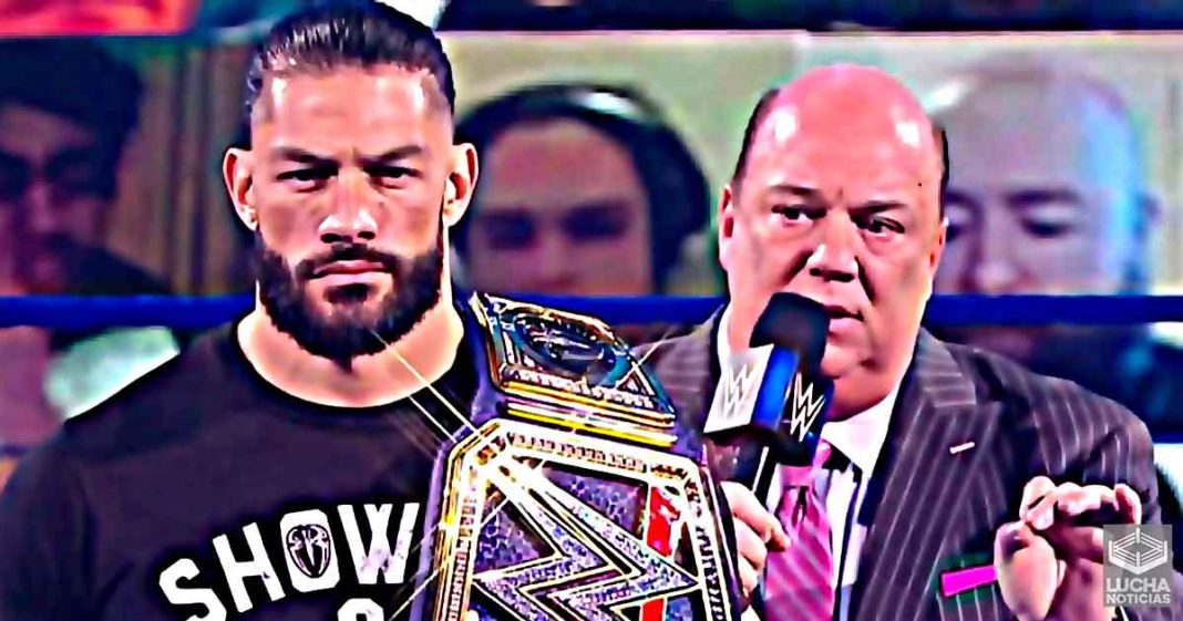 WWE quiere hacer que el papel de Paul Heyman con Roman Reigns sea diferente que con Brock Lesnar
