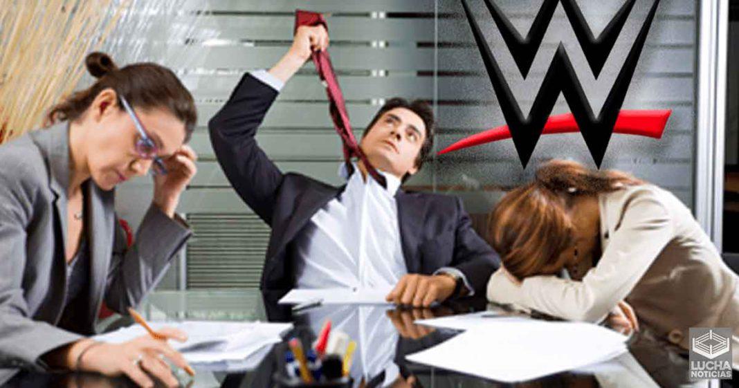 WWE reduce el sueldo de sus empleados y aumente su carga de trabajo