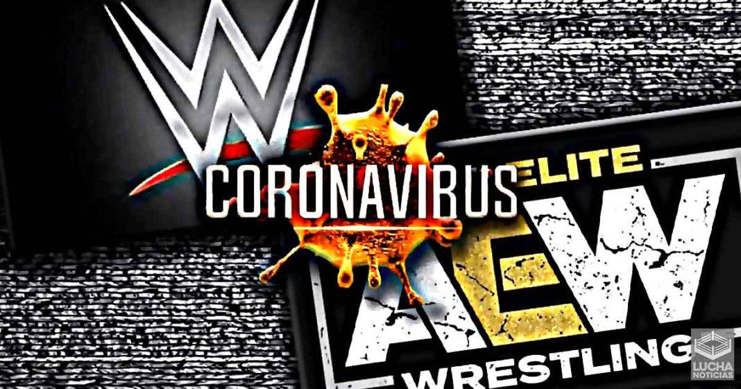 WWE y AEW hacen pruebas de COVID-19 en diferentes maneras