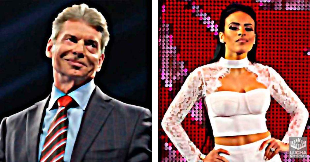 Zelina Vega es una de las superestrella favoritas de Vince McMahon