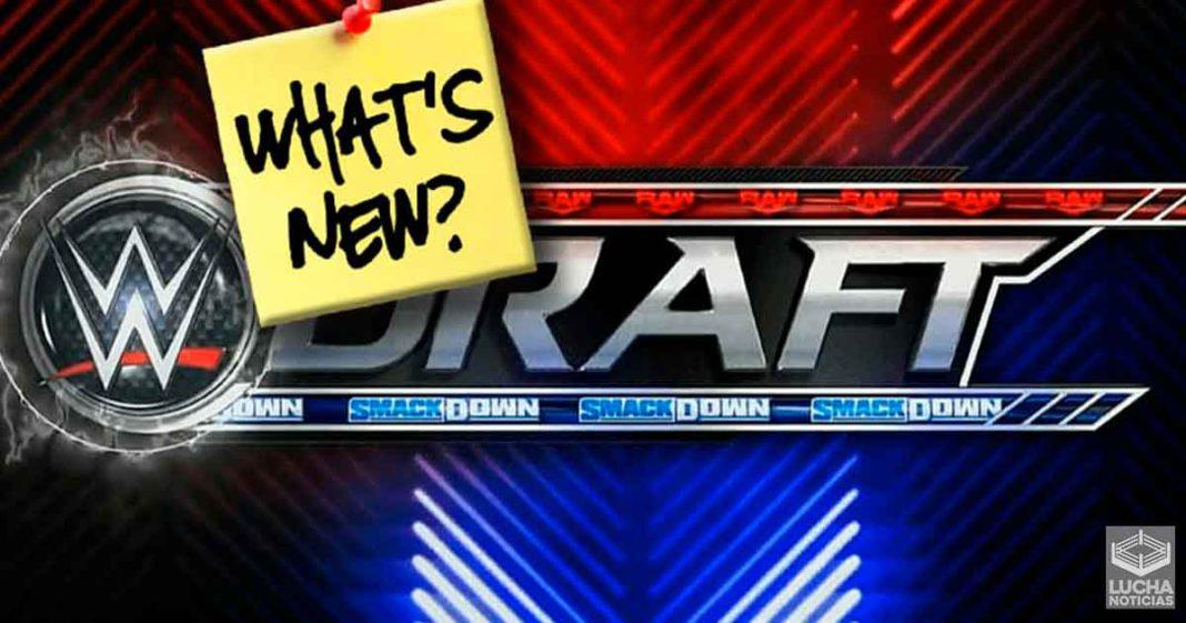 Así es como cambió el WWE Draft este año