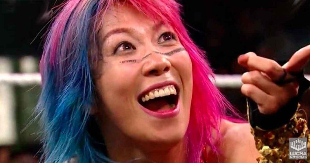 Asuka no ve a Lana como una amenaza por el campeonato femenil de RAW