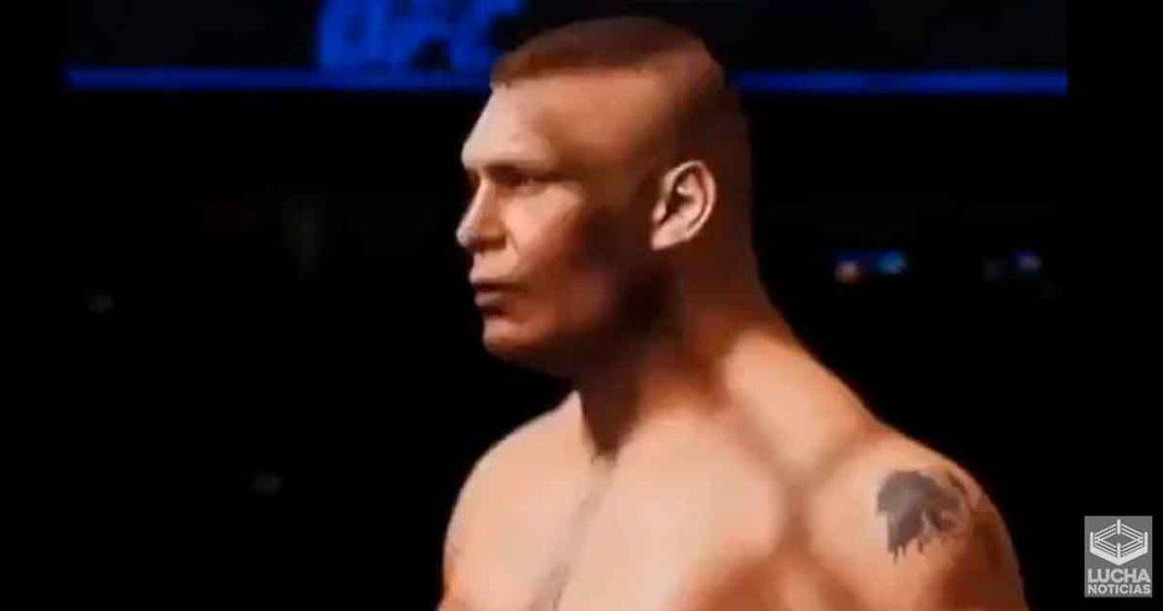 Brock Lesnar dice que la UFC es su casa en el nuevo trailer del videojuego de la empresa