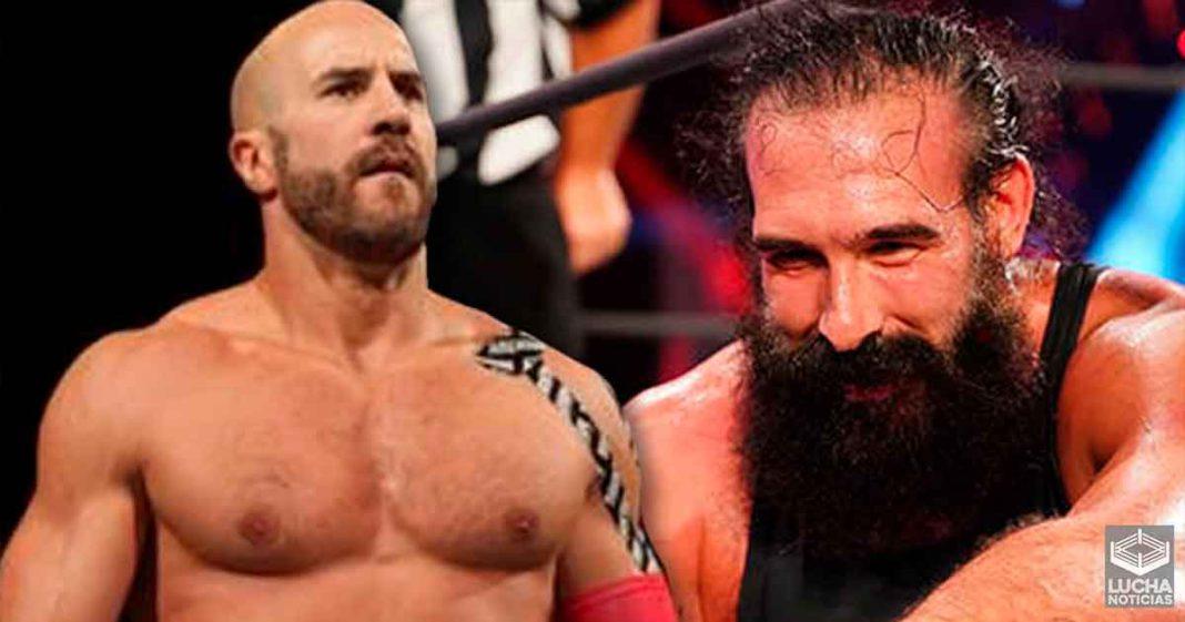 Brodie Lee explica como es que Cesaro lo salvó de ser despedido en WWE