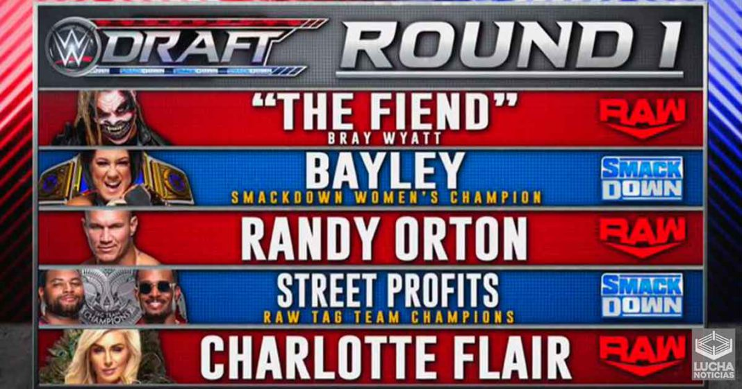 Bray Wyatt es trasladado a WWE RAW - Round 1 del WWE Draft