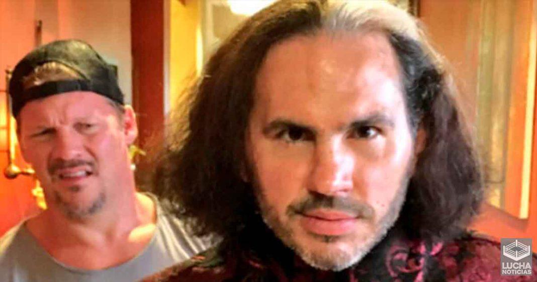 Chris Jericho dice que nunca tendrá una rivalidad con Matt Hardy