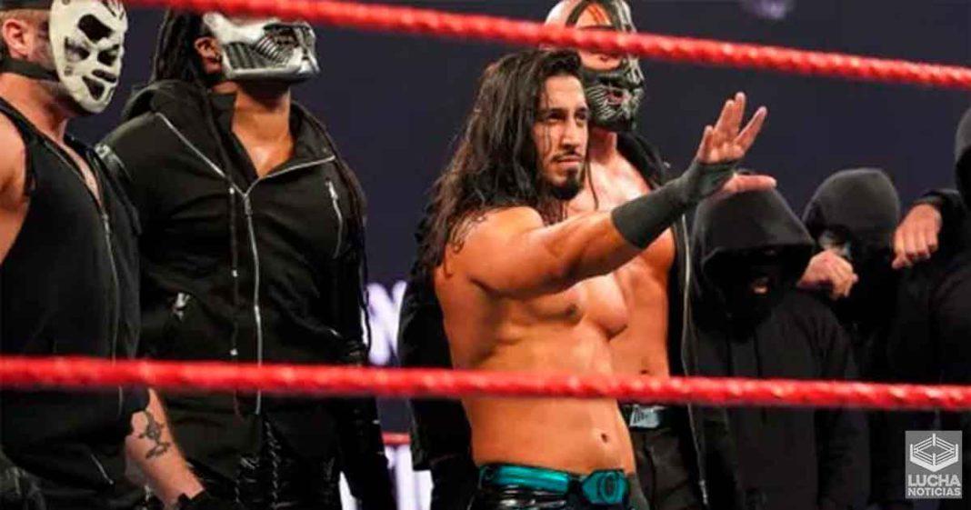 Cuándo decidió WWE que Mustafa Ali sería lider de RETRIBUTION