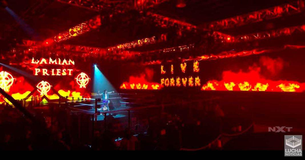Damien Priest vence a Jhonny Gargano en NXT TakeOver: 31