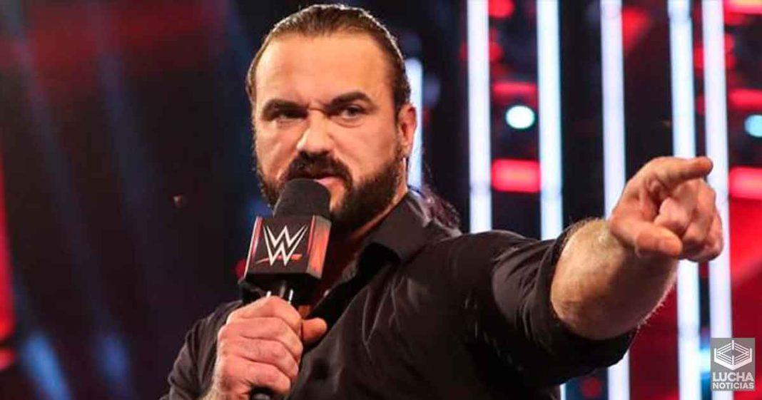 Drew McIntyre es pensado para gran lucha en WrestkeMania