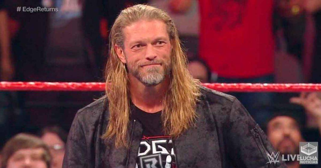 Edge dice que aprendió una gran lección de AEW