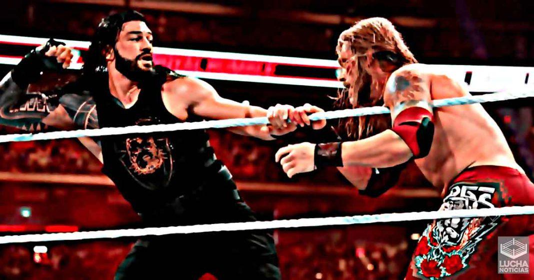 Edge regresará y se enfrentará a Roman Reigns