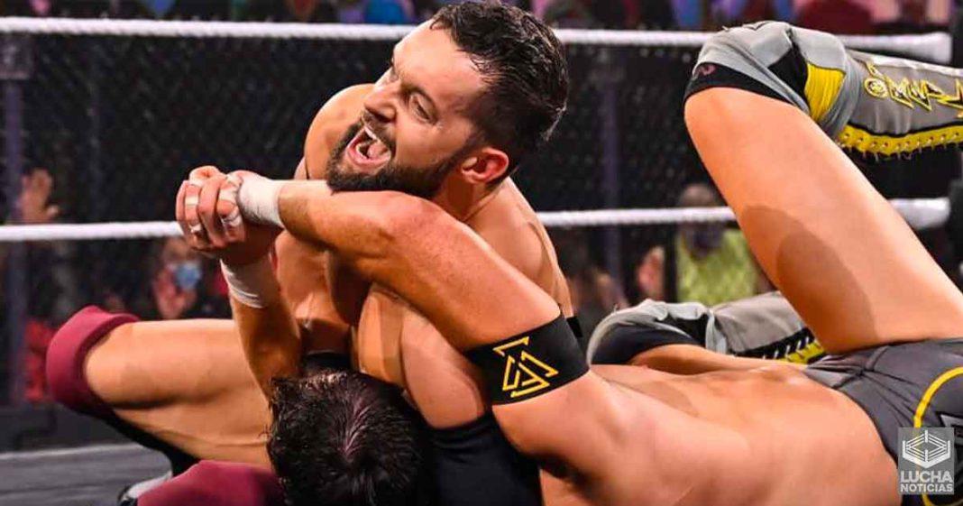 El evento estelar de WWE NXT TakeOver: 31 terminó antes por una lesión