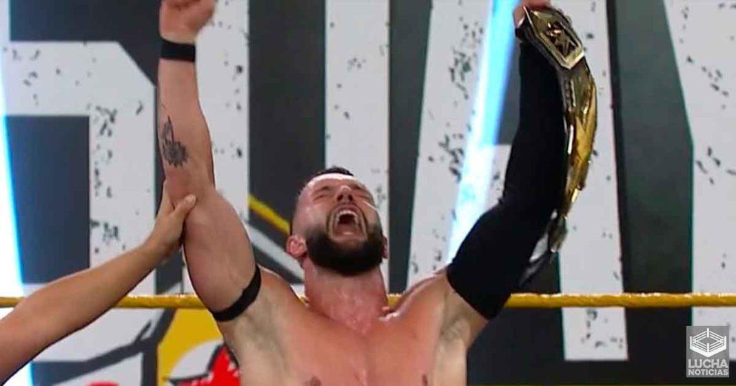 Finn Bálor será despojado de su campeonato de WWE NXT